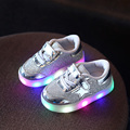 Children Shoes With Light Boys Girls Sport Running Light Led Shoes Flashing Lights Boys Sneakers Kids LED Sneakers Size 21-30