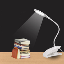 купить Led Desk lamp USB Touch Table Lamp with Clip Bed Reading Book Night Light LED Desk lamp Table Eye Protection Office Work Childre дешево
