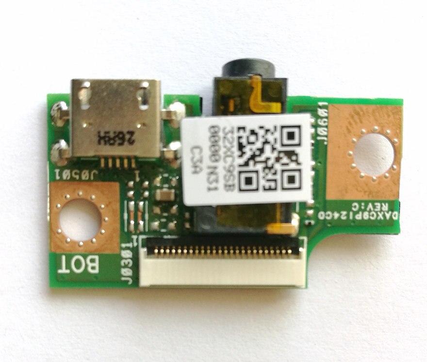 Original para T1chi Carregador Audio Board Daxc9pi24c0 Daxc9p124c0 Bom Teste Frete Grátis Usb T100chi