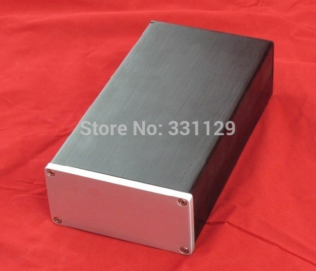 Бреезе Аудио-алуминијумска шасија 1005 (ширина 100 висина 50 дужина 180) може се користити као мали амп или повер бок