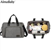 Aimababy Large Diaper Bag Organizer Brand Nappy Bags Baby Travel Maternity Bags For Mother Baby CareStroller Bag Diaper Handbag