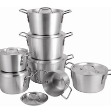 7 шт./компл. толстый набор алюминиевых кастрюль многоцелевой кастрюля для супа, набор кухонной посуды panela инструменты для приготовления пищи