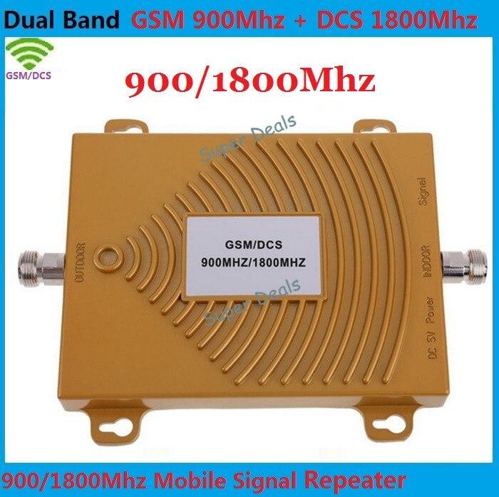 Prend en charge l'amplificateur de signal de téléphone portable de données 4g répéteur de Signal gsm dcs 4g 2g amplificateurs de signal cellulaire 900 MHz 1800 MHz