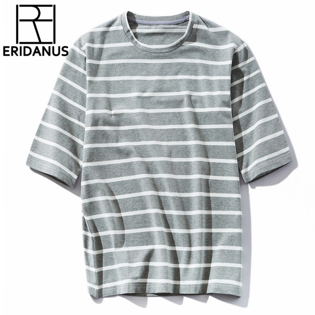 8b5add18 New Striped T-shirt Mens Fashion Short Sleeve Man 2017 Summer Spring  Oversized Hip Hop Tshirt Cotton Tee Shirts 3XL X565
