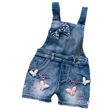 New women's colthing Denim short pants cowboy straps shorts Campus braces jeans Straight suspender trousers overalls plus size