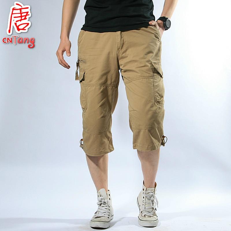 Popular Khaki Pants Short Men-Buy Cheap Khaki Pants Short Men lots ...