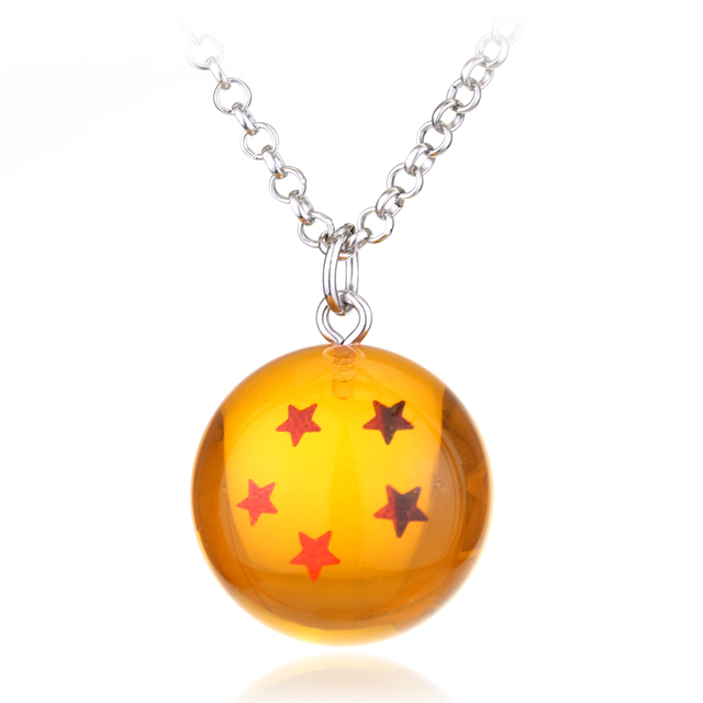 7 style Dragon Ball Necklace Crystal Ball