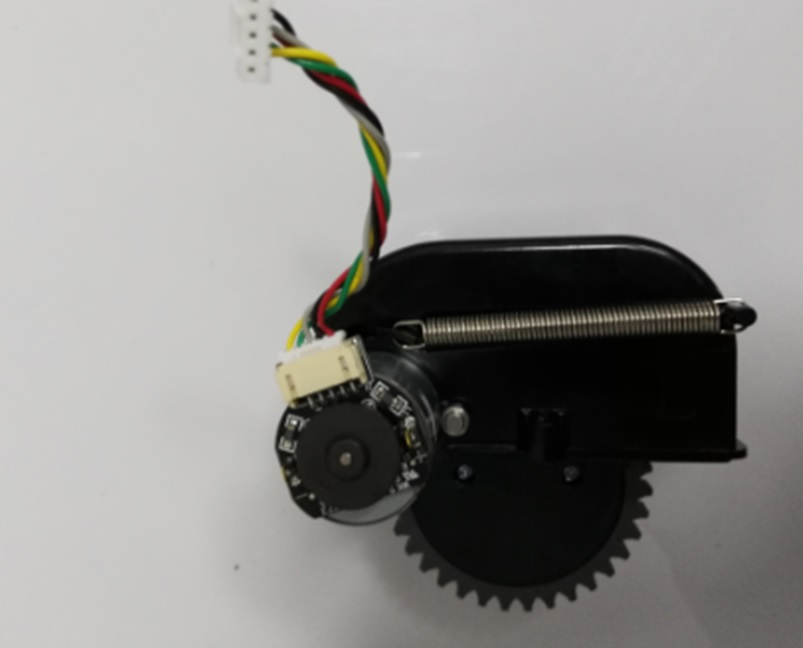Original Right Motor Wheel For Chuwi Ilife V5s Pro Ilife V3s Pro Robot Vacuum Cleaner Parts