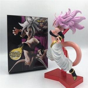 Dragon Ball Z Special Majin Buu, Android 19, Android 21, для девочек Экшн-фигурка DBZ Goku Buu ПВХ Модель 22 см
