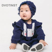 Dvotinst Newborn Baby Girls Clothes Bodysuits Rabbit