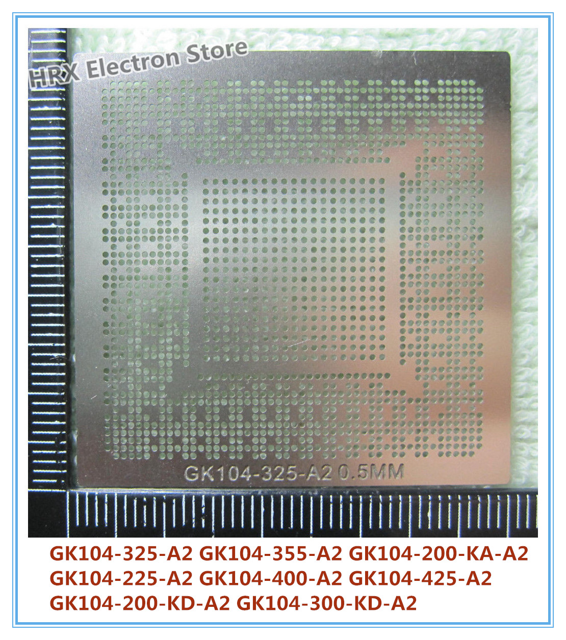 Integrated Circuits Direct Heating Gk104-325-a2 Gk104-400-a2 Gk104-200-kd-a2 Gk104-300-kd-a2 N13e-gt-w-a2 N13e-gtx-a2 N14e-gtx-a2 Stencil Active Components