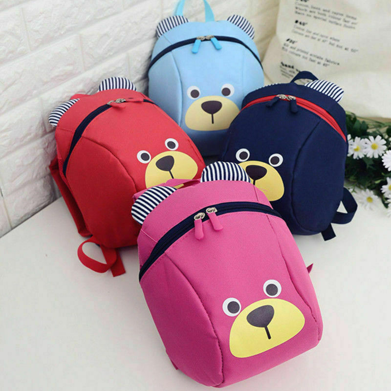 2019 New Children Kids Baby Backpack Walking Safety Harness Reins Toddler Strap Bag Anti-lost Cute Cartoon Backpacks