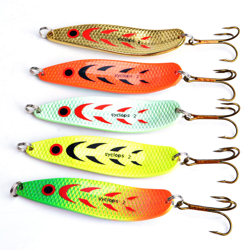 Mepps Spoon Bait 5pcs/lot Wobbler 18g Peche Fishing Lure Tackle China Winter Artificial Hard Fake Fish Metal Lures Set цена