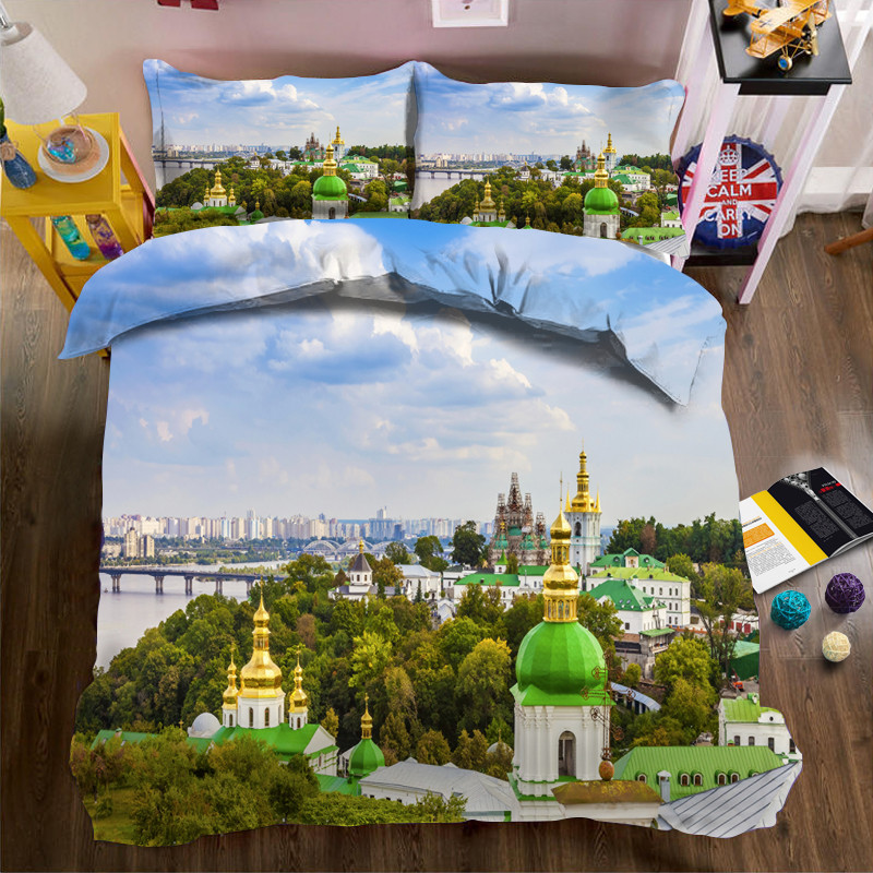 Luxury printing 3D Bedding Set King Queen double Size Bed Linen Duvet Cover Bed Sheet Set PillowcasesLuxury printing 3D Bedding Set King Queen double Size Bed Linen Duvet Cover Bed Sheet Set Pillowcases