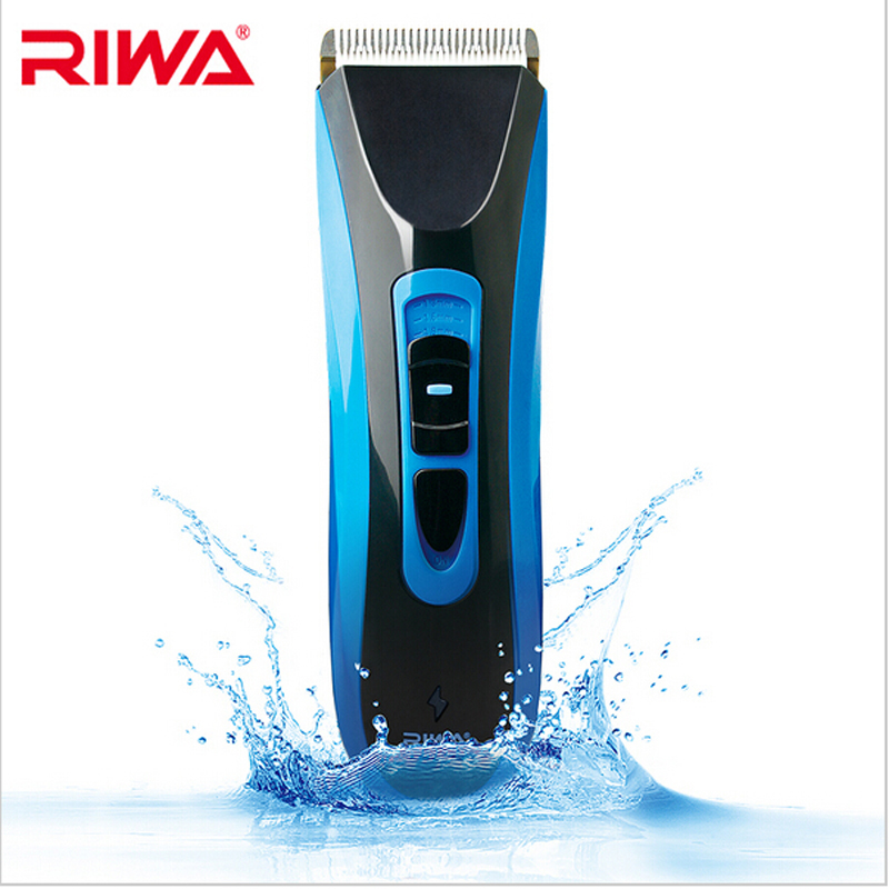 Riwa RE 750A high quality CE certificated IPX7 grade Clipper waterproof professional hair trimmer cutting Cordless