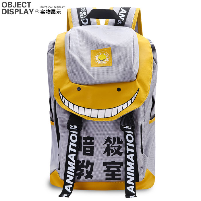 Anime Assassination Classroom Cosplay Fashion casual male and female students backpack anime assassination classroom cosplay fashion casual men and women travel bags birthday gift