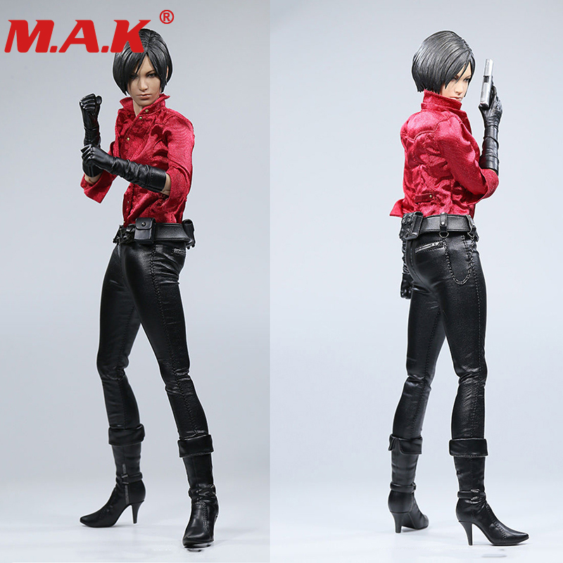все цены на 1/6 scale 12 inches female girl full set action figure Resident Evil Ada Wang Casual version model toys for collection онлайн