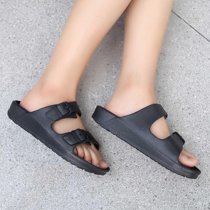 Originele Clog Comfortabele Vrouwen Klassieke Sandalen Zomer Outdoor Strand Schoenen Fit Flop Slip Op Tuin Casual Water Douche Slippers