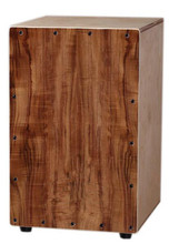 Adult Cajon Drum Koa plywood Normal Color EMS free shipping Musical instruments