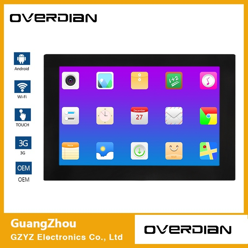 18inch Android System Industrial Computer Household Embedded Computer ResistanceTouch Computer 16:9 Screen Single Touch1366*768