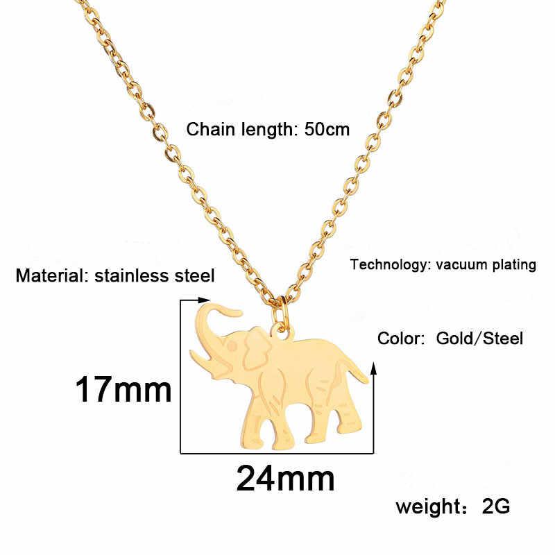 Zwierząt Alloy choker łańcuszek dla Wamen mężczyzn biżuteria naszyjniki złoto srebro piękny elegancki lato słodkie cienkie dość Trend prosty w porządku