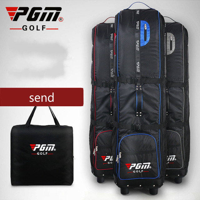 PGM New Golf Airbag with Password Lock Thickened Aircraft Check Bag Foldable HKB009