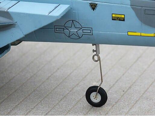 Без батареи, радиоуправляемый самолет модель F15 пустынный камуфляж-готов к полету