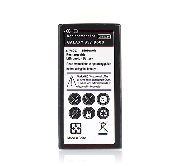 3500mAh For Galaxy <font><b>S5</b></font> i9600 Replacement Battery For <font><b>Samsung</b></font> Galaxy <font><b>S5</b></font> I9600 Batteries for <font><b>Samsung</b></font> Galaxy <font><b>S5</b></font> Batteria <font><b>Bateria</b></font> image