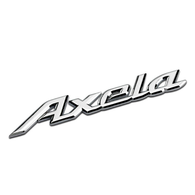 Dsycar 1Pcs 3D Metal Atenza / Axela Car Side Fender Rear Trunk Emblem Badge Sticker Decals for Mazda 6 Atenza Mazda 3 Axela mazd6 atenza taillight sedan car 2014 2016 free ship led 4pcs set atenza rear light atenza fog light mazd 6 atenza axela cx 5