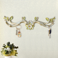 Simple and modern creative decorative hooks Antlers Wall hangings rack Clothing store entrance porch wall decoration wall hooks