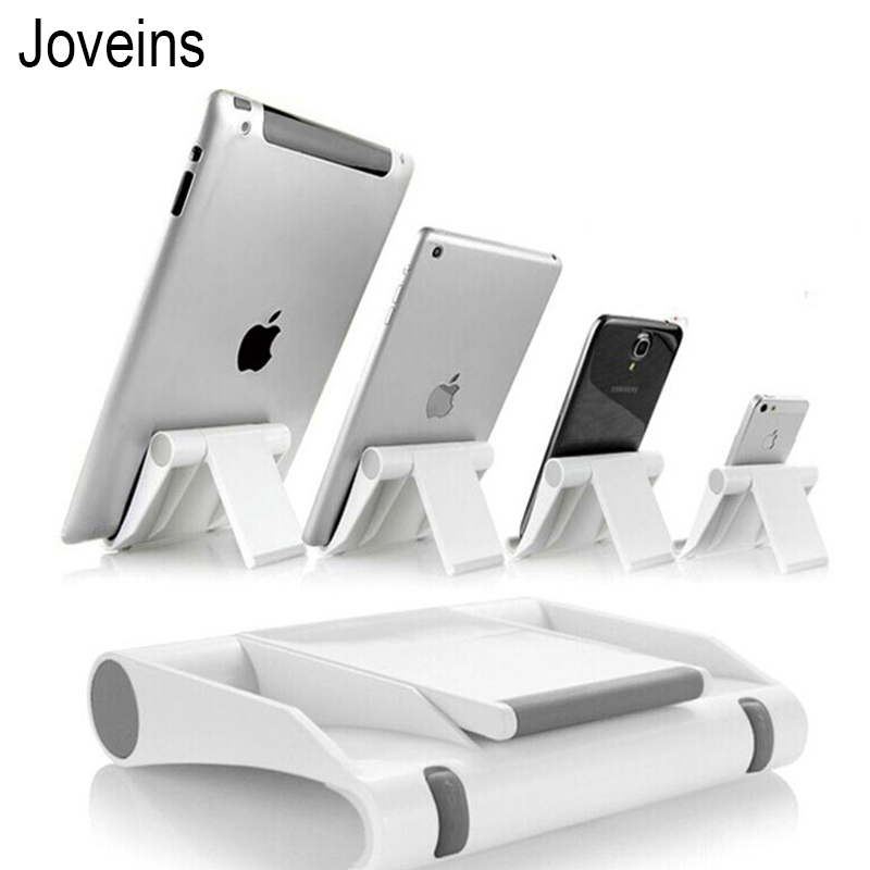 Joveins Universal Tablet PC Holder Foldable Adjustable Angle Desk Phone Holder Stand Flexible for Samsung iPad Tablet PC
