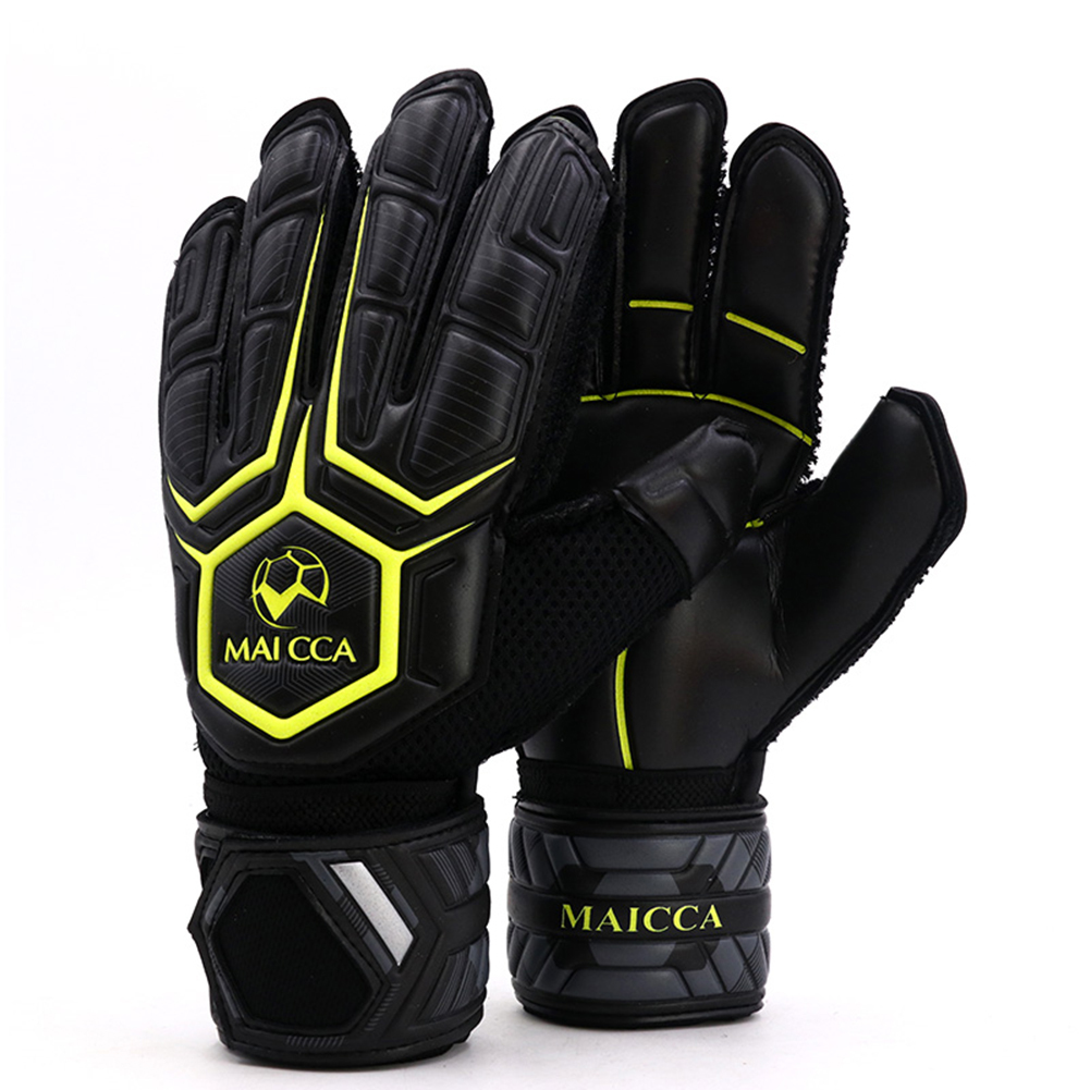 Professional Soccer Goalkeeper Gloves Keeper Football Latex Men Training  Protection
