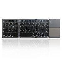 Universal Intelligent Pocket Folding Touch Pro 3 0 Bluetooth Wireless Folder Keyboard Ultra Slim