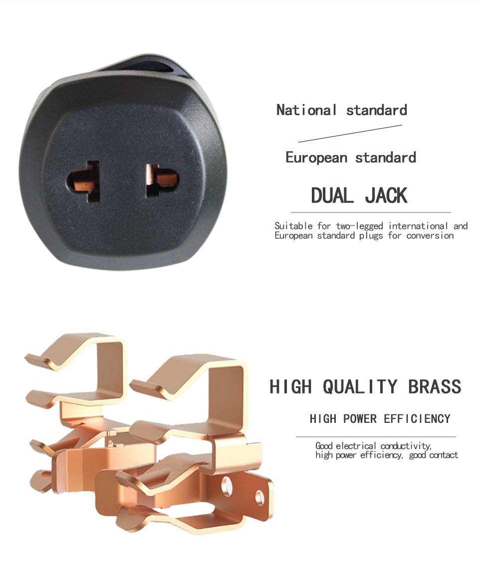 New Arrival 2019 Universal EU US AU to UK AC Power Socket Plug Travel Wall Charger Adapter Converter Electric plug power Adaptor (10)