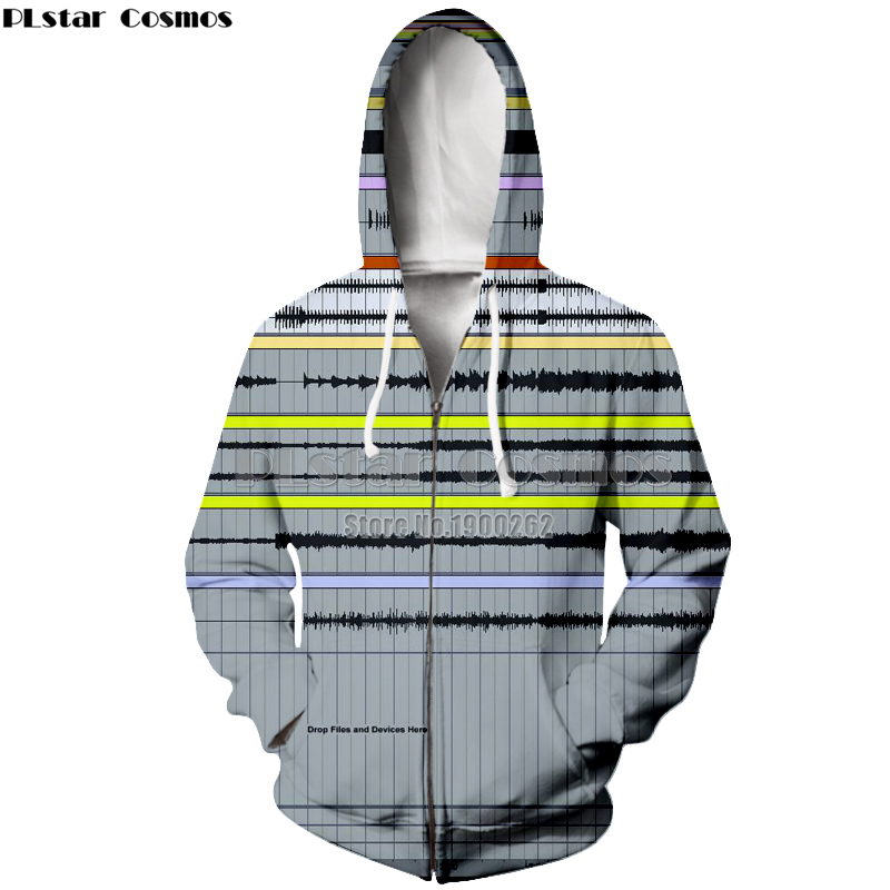 PLstar Cosmos brand Ableton live Hoodies Hooded zipper fashion style Hoodie Funny Women/Men Plus size S-5XL