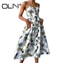 OLN 27 Цвет бохо платье Для женщин Элегантный хиппи шик богемное пляжное платье плюс Размеры 3XL Vestido миди летние сарафаны Туника Y122