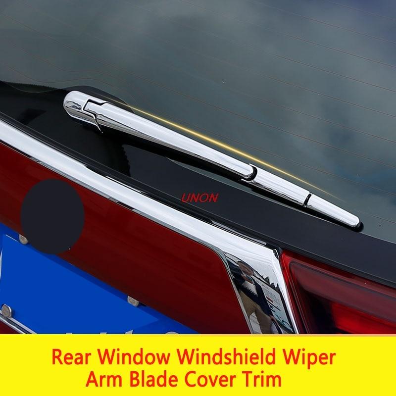 For Mitsubishi Outlander 2013-2018 ABS Chrome Rear Wiper Blade Trim Cover