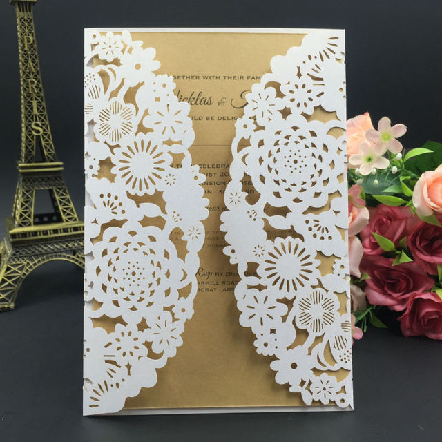 100pcs flower design wedding invitation card handmade greeting card 100pcs flower design wedding invitation card handmade greeting card gift card christmas card printing m4hsunfo