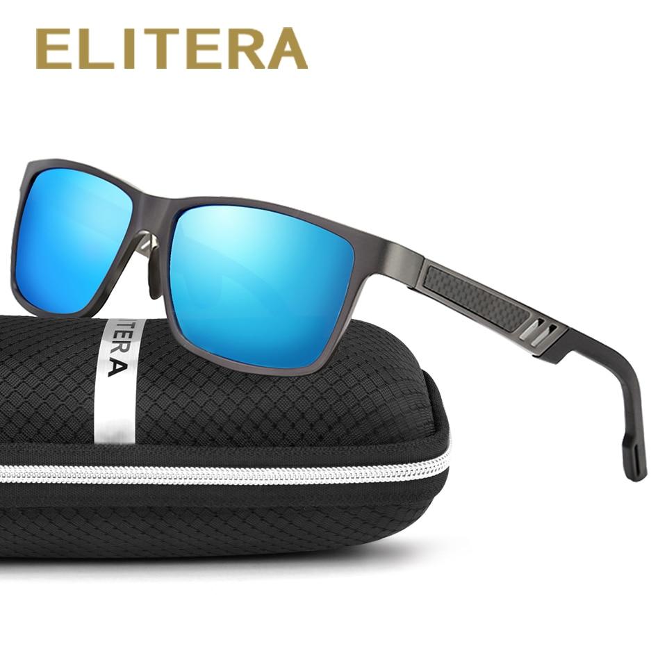 ELITERA Aluminum Magnesiu Polarized Men Sunglasses For Sports Driving Outdoor Goggle Eyewear oculos de sol 6560