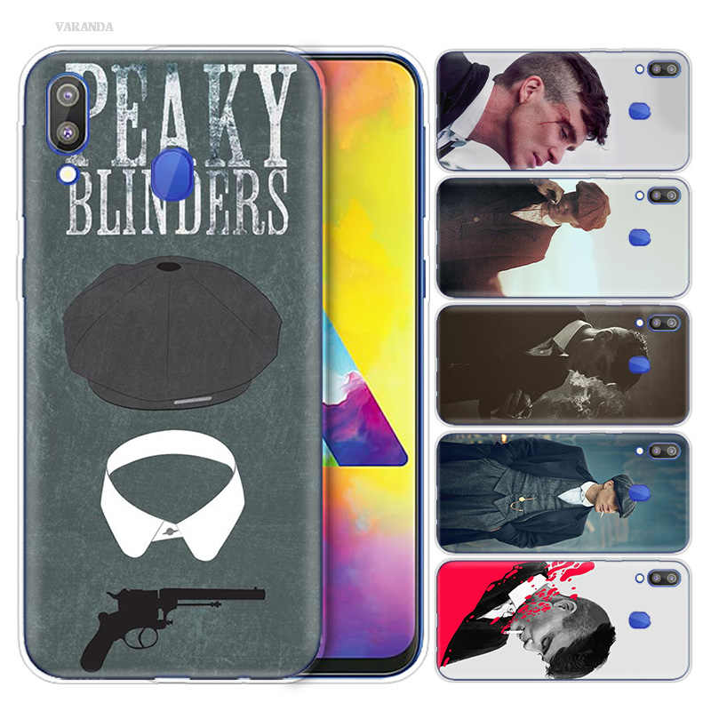 Peaky Blinders 男ヴィンテージケース Coque サムスンギャラクシー S10 S10e S10 5 グラムプラス M10 M20 M30 A10 A20 a30 A40 A50 A70 A20e A80/A90