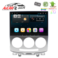 Android 7,1 dvd плеер автомобиля 9 gps навигационная система для Mazda 5 2005 2009 HD 1024*600 bluetooth gps радио WI FI 4G стерео aux