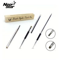 Hot Selling Capacitive Brush Stylus Pen For Ipad For Iphone For Samsung Galaxy Tab Tab 2