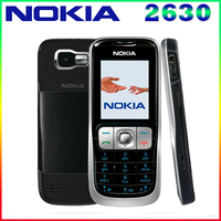 2630 Original Nokia 2630 2G GSM Unlocked Cheap Refurbished Celluar Phone Free Shipping