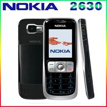 2630 оригинальный Nokia 2630 2 г GSM Дешевые Восстановленное сотовых телефонов Бесплатная доставка