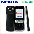 Refurbished Original NOKIA 2630 Cell Phone GSM Mobile Unlocked MP3 Bluetooth Video Player Free Shipping