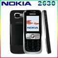 Restaurado original nokia 2630 celular de telefonía móvil gsm desbloqueado mp3 bluetooth reproductor de vídeo el envío libre