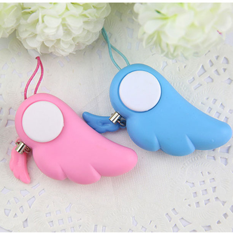 Self Defense Alarm for Women Child Personalized Keyring with Safe 90 db Sound Kids Security Alarm Protection Keychain Mini Alarm