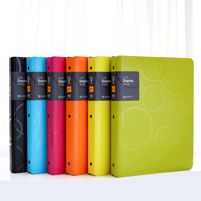 240*310MM A4 Professional File Folder 30 40 60 80 Page Presentation Folder Display Book Office Business Document Organizer