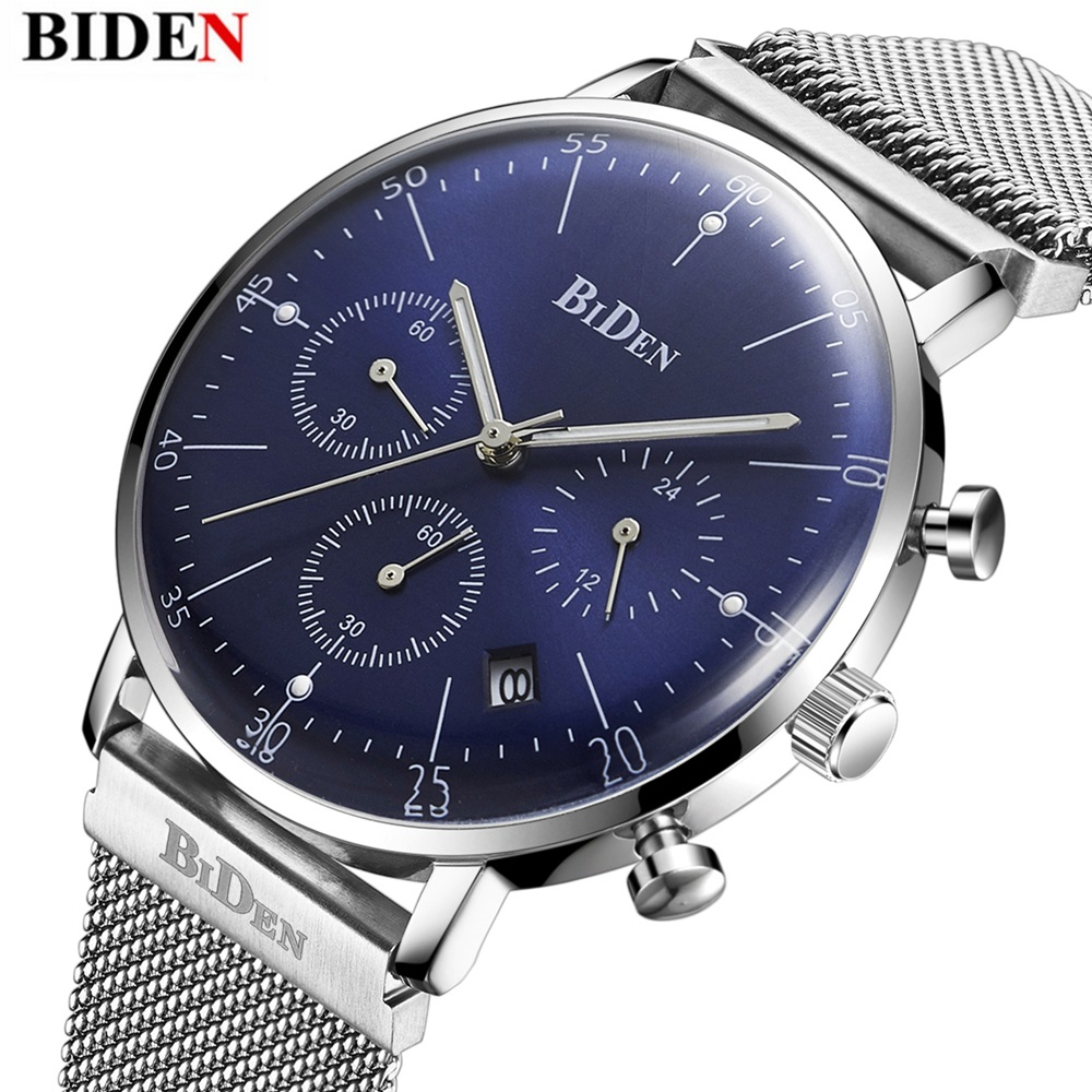 Mens Quartz watches top brand luxury Military Sport Watch Stainless steel mesh belt Male Clock men Wrist watches reloj hombre sinobi mens military watches luxury quartz watch men clock silicone strap sport watches male wristwatch waterproof reloj hombre