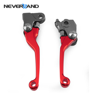 One Pair CNC Pivot Brake Clutch Levers For Honda CRF 450R 250R 2007 2008 2009 2010